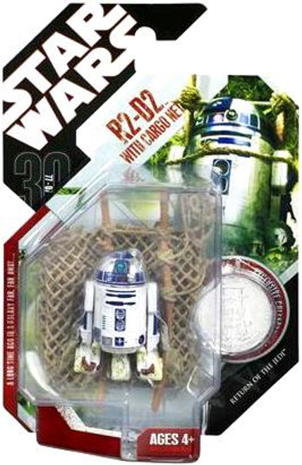 Star Wars Return of the Jedi 30th Anniversary 2007 Wave 7 R2-D2 With Cargo Net Action Figure #46