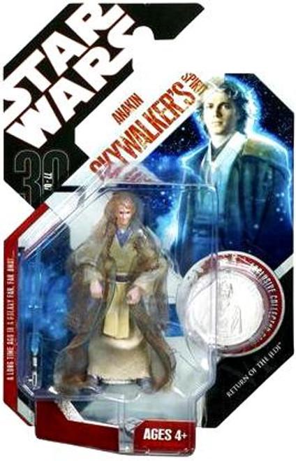 Star Wars Return of the Jedi 30th Anniversary 2007 Wave 7 Anakin Skywalker Action Figure #45 [Jedi Spirit]