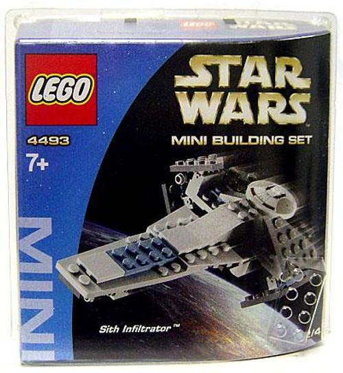 LEGO Star Wars The Phantom Menace Mini Building Sets Sith Infiltrator Set #4493