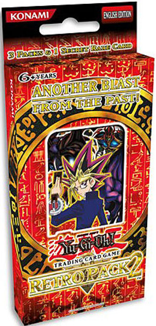 YuGiOh Retro Pack 2 Retro 2 Special Edition Pack [3 Booster Packs & Promo Card] [Sealed]