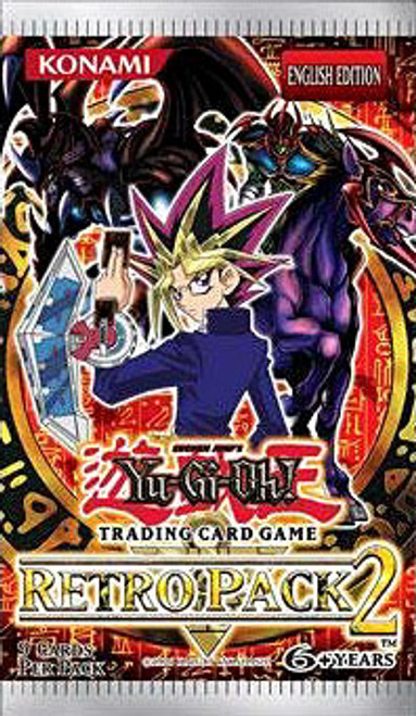 YuGiOh Retro Pack 2 Booster Pack [Special Edition] [Sealed]