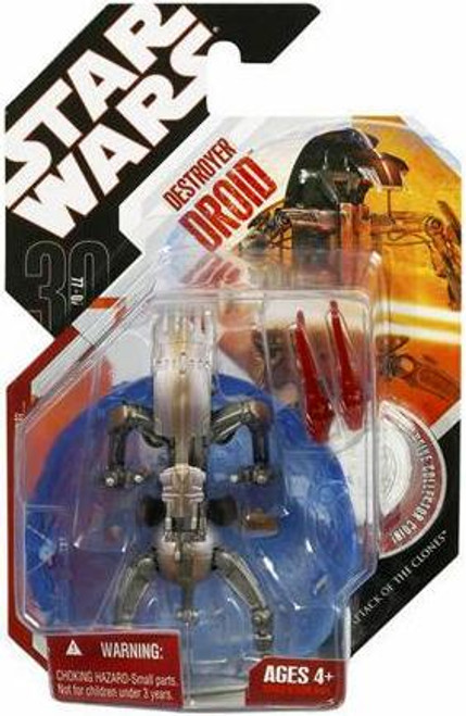 Star Wars Attack of the Clones 30th Anniversary 2007 Wave 9 Destroyer Droid Action Figure #59