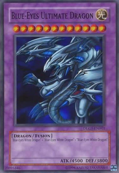 YuGiOh Dark Legends Super Rare Blue-Eyes Ultimate Dragon DLG1-EN001