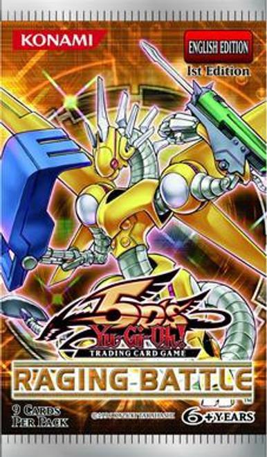 YuGiOh Raging Battle Booster Pack [Sealed]