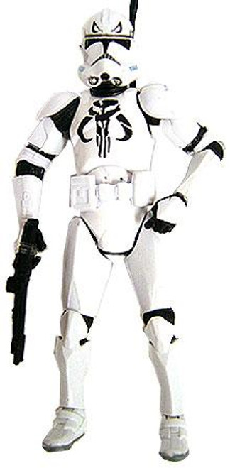 Star Wars The Clone Wars Boxed Sets 2007 Mandalorian Clone Trooper Exclusive Action Figure [Loose]
