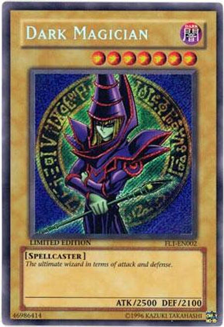 YuGiOh Forbidden Legacy Secret Rare Dark Magician FL1-EN002