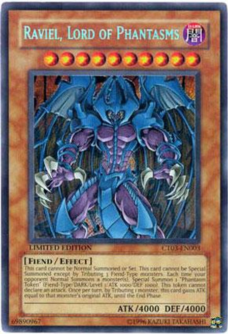 YuGiOh 2006 Collector Tin Secret Rare Raviel, Lord of Phantasms CT03-EN003