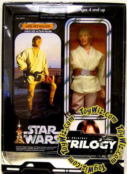 Star Wars A New Hope Original Trilogy 12 Inch Deluxe Luke Skywalker 12 Inch Action Figure