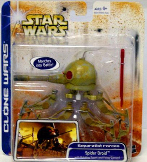 Star Wars The Clone Wars Unknown Year Spider Droid Action Figure