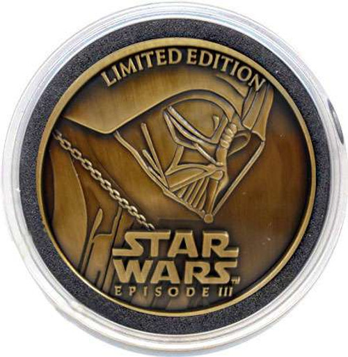 Star Wars Revenge of the Sith 2005 Limited Edition Brass Collectors Coin