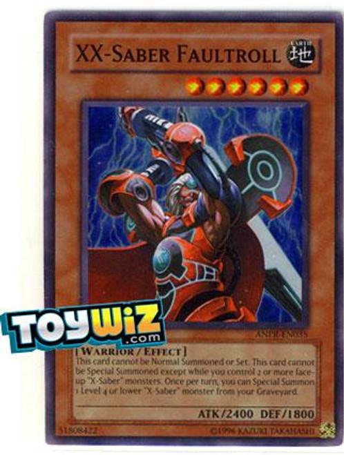 YuGiOh Ancient Prophecy Super Rare XX-Saber Faultroll ANPR-EN035