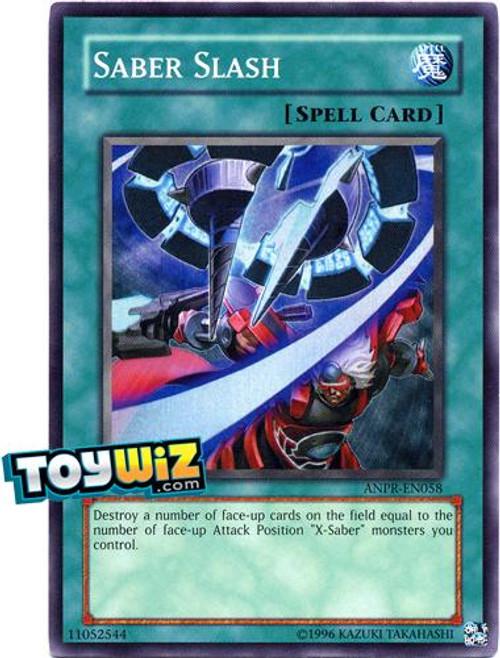 YuGiOh Ancient Prophecy Super Rare Saber Slash ANPR-EN058