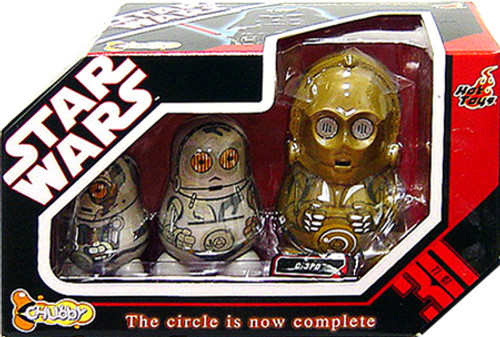 Star Wars Chubby Dolls C-3PO Chubby Doll