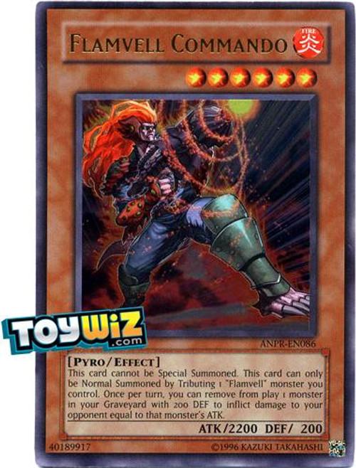 YuGiOh Ancient Prophecy Ultra Rare Flamvell Commando ANPR-EN086