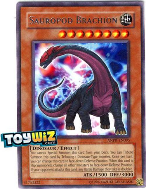 YuGiOh Ancient Prophecy Rare Sauropod Brachion ANPR-EN095
