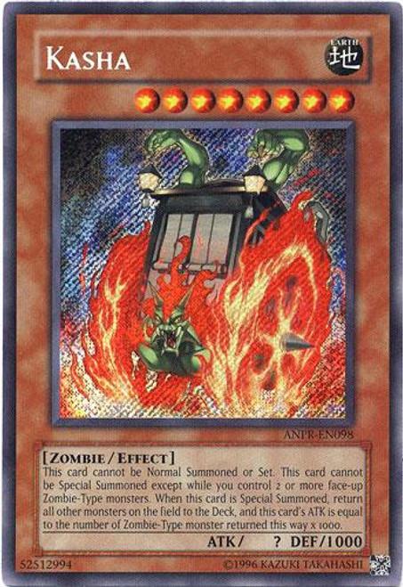 YuGiOh Ancient Prophecy Secret Rare Kasha ANPR-EN098