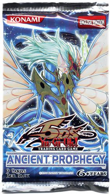 YuGiOh Ancient Prophecy Booster Pack [Sealed]