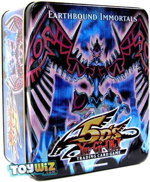 YuGiOh 5D's 2009 Collector Tin Earthbound Immortal Wiraqocha Rasca Collector Tin [Sealed]
