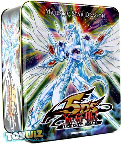 YuGiOh 5D's 2009 Collector Tin Majestic Star Dragon Collector Tin [Sealed]
