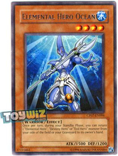YuGiOh Champion Pack: Game 7 Rare Elemental Hero Ocean CP07-EN006