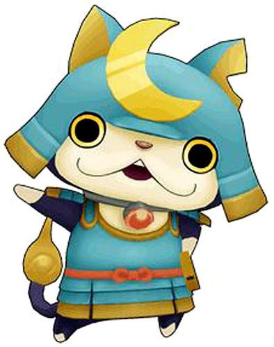 Yo kai watch medal moments shogunyan mini figure hasbro for Sale de bain yo kai watch 2