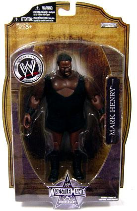 wwe wrestling wrestlemania 25 series 1 mark henry action