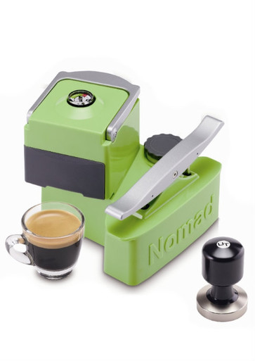 "Nomad Espresso Maker. The ""Go Anywhere Espresso Machine"""