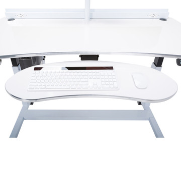 Ergonomic Keyboard Arm with Tray