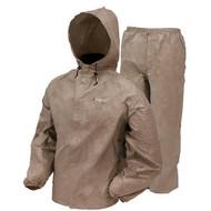 Frogg Toggs DriDucks Rainsuit/Khaki Large - UL12104-04-LG