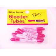 Betts Bleeder Tubes 1.5' 10ct Red/Pearl/Red DWO