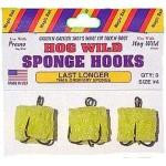 Magic Bait Hog Wild Sponge Hooks Size 6 3ct