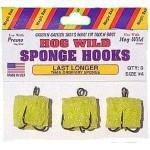 Magic Bait Hog Wild Sponge Hooks Size 4 3ct
