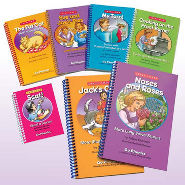 Set of 7 Phonics Readers
