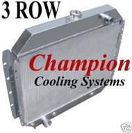 1968-1979 Ford F Series Pickup Truck Champion Cooling PRO Series Radiator