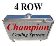 1968 1969 1970 1971 1972 Plymouth GTX Aluminum Radiator