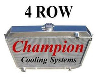 1968 69 70 71 72 73 Plymouth Roadrunner 4 Row Radiator