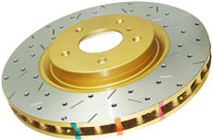 4000 Series Drilled /Slotted REAR Rotor -PAIR-GTO 2004