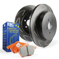 EBC 2004-2005 Stage 7 Kits Orangestuff and BSD Rotors-REAR