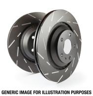 EBC 04-06 Pontiac GTO 6.0  USR Slotted REAR Rotors-PAIR