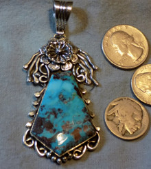 SDavidJewelry.com Natural Bisbee Blue Turquoise