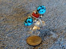 SDavidJewelry.com Turquoise and Coral K. Jones