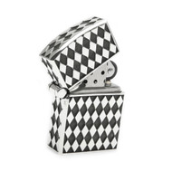 Diamond Pattern Lighter in Sterling Silver