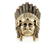 Custom 18K Gold El Indio Ring