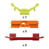 ROVER 400 / 45 1995 - 2005 WINDSCREEN SIDE CLIP KIT PACK OF 18