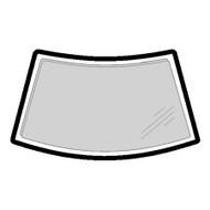 RENAULT MEGANE CABRIO (96-02) WINDSCREEN MOULDING