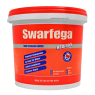 SWARFEGA RED BOX HAND CLEANING WIPES (150) for general cleaning