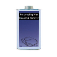 RUSTPROOFING WAX CLEANER & REMOVER 1 Litre CAN
