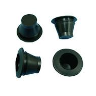 DINITROL 10mm BLACK TAPERED PLASTIC BLANKING PLUG RUST PROOFING