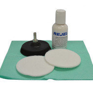 REJEL DIY FLAT GLASS SCRATCH 3inch REPAIR KIT FOR REMOVAL OF MINOR SCRATCHES