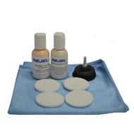 REJEL DIY HEADLIGHT TAIL LIGHT SCRATCH REPAIR KIT REMOVAL HAZINESS + UV SEALANT